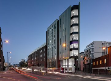 X1 lettings The Edge student residential accommodation liverpool